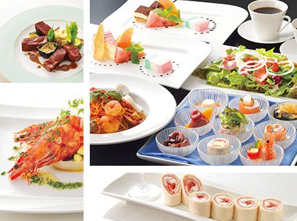 ディナー[Dinner] 営業時間帯 17:00〜21:00迄 オーダーストップ 20:30